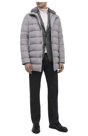 Мужской кожаные дерби SILVANO SASSETTI темно-серого цвета, арт. S19621X549DCVGLCHA. | Фото 2