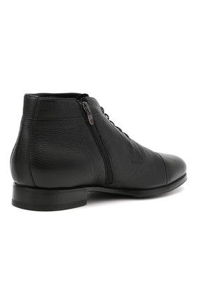 Мужские кожаные ботинки BARRETT черного цвета, арт. B182U007.1/CERV0 | Фото 4