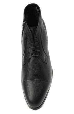 Мужские кожаные ботинки BARRETT черного цвета, арт. B182U007.1/CERV0 | Фото 5