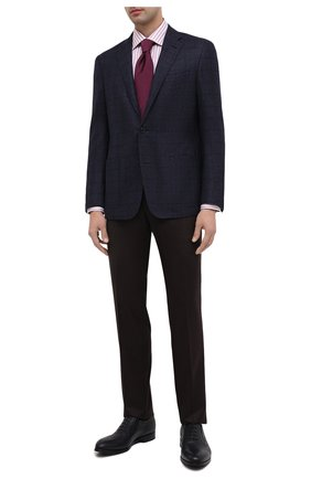 Мужские кожаные оксфорды BARRETT темно-синего цвета, арт. B182U051.1/CERV0 ASP0RTABILE | Фото 2