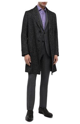 Мужские кожаные оксфорды BARRETT коричневого цвета, арт. B182U051.2/CERV0 ASP0RTABILE | Фото 2 (Материал внутренний: Натуральная кожа, Текстиль; Стили: Классический)