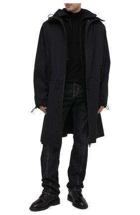 Мужские кожаные ботинки MARSELL черного цвета, арт. MM4070/PELLE VITELL0 | Фото 2