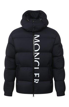 Мужская пуховая куртка maures MONCLER темно-синего цвета, арт. F2-091-1B544-10-53333 | Фото 1