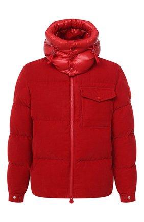 Мужская пуховая куртка vignemale MONCLER красного цвета, арт. F2-091-1B580-00-549H4 | Фото 1