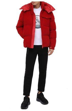 Мужская пуховая куртка vignemale MONCLER красного цвета, арт. F2-091-1B580-00-549H4 | Фото 2