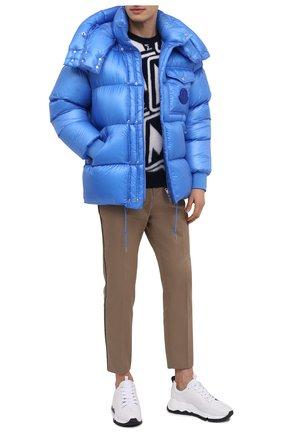 Мужская пуховая куртка lamentin MONCLER синего цвета, арт. F2-091-1B583-00-539WF | Фото 2