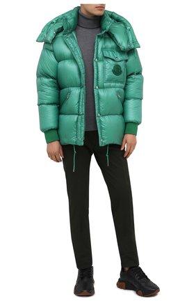 Мужская пуховая куртка lamentin MONCLER зеленого цвета, арт. F2-091-1B583-00-539WF | Фото 2
