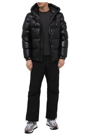 Мужской шерстяной джемпер MONCLER серого цвета, арт. F2-091-9C742-00-A9442 | Фото 2
