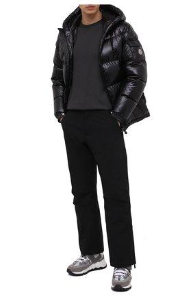 Мужской утепленные брюки MONCLER GRENOBLE черного цвета, арт. F2-097-2A603-40-53066 | Фото 2