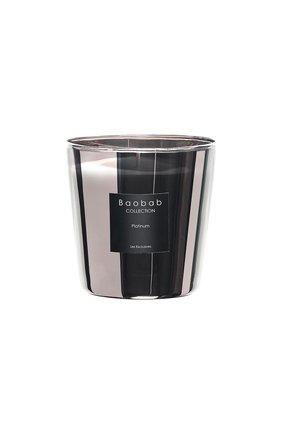 Мужского свеча les exclusives max one platinum BAOBAB бесцветного цвета, арт. 5415198108752 | Фото 1