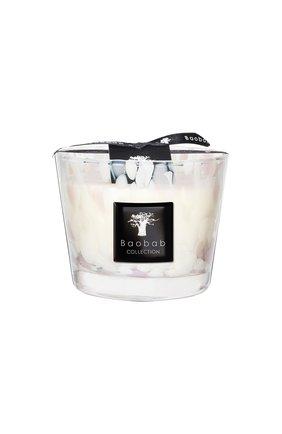 Свеча pearls max 10 white pearls BAOBAB бесцветного цвета, арт. 5415198110786 | Фото 1 (Ограничения доставки: flammable)
