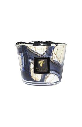Свеча stones max 10 lazuli BAOBAB бесцветного цвета, арт. 5415198111042   Фото 1 (Ограничения доставки: flammable)