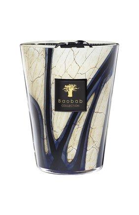 Свеча stones max 24 lazuli BAOBAB бесцветного цвета, арт. 5415198125049 | Фото 1