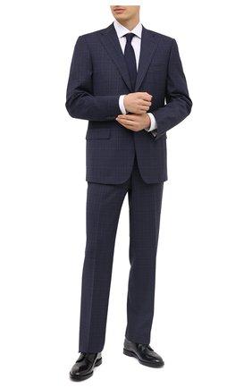Мужской шерстяной костюм CORNELIANI темно-синего цвета, арт. 867315-0817248/92 Q1 | Фото 1