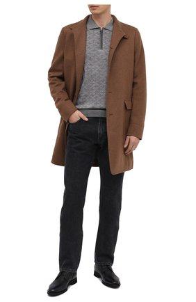 Мужские кожаные ботинки BARRETT темно-синего цвета, арт. 132U076.18/CERV0 ASP0RTABILE | Фото 2