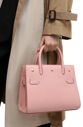 Женская сумка title BURBERRY розового цвета, арт. 8026891 | Фото 2