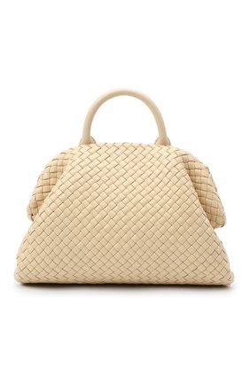 Женская сумка bv handle BOTTEGA VENETA светло-бежевого цвета, арт. 639301/V01D1 | Фото 1