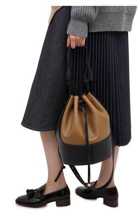 Женская сумка balloon LOEWE черного цвета, арт. 326.76AC30 | Фото 2