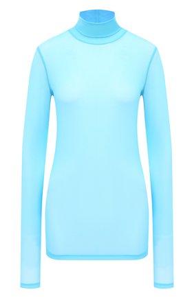 Женская водолазка DRIES VAN NOTEN голубого цвета, арт. 202-11146-1202 | Фото 1