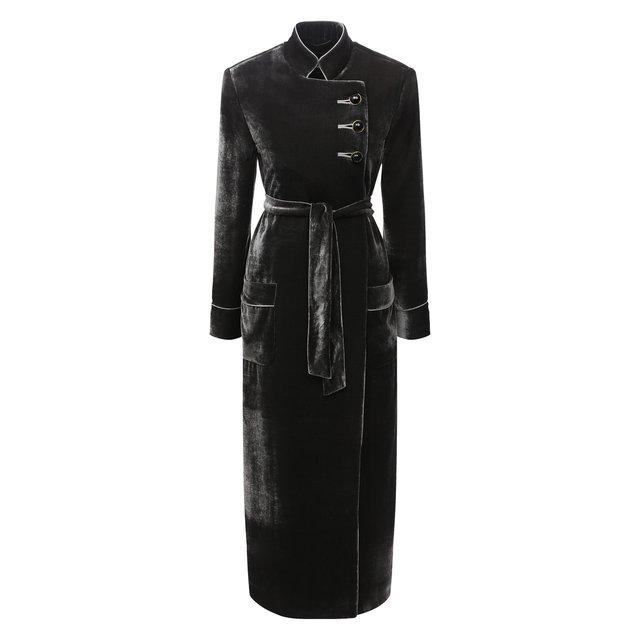 Пальто из вискозы Giorgio Armani