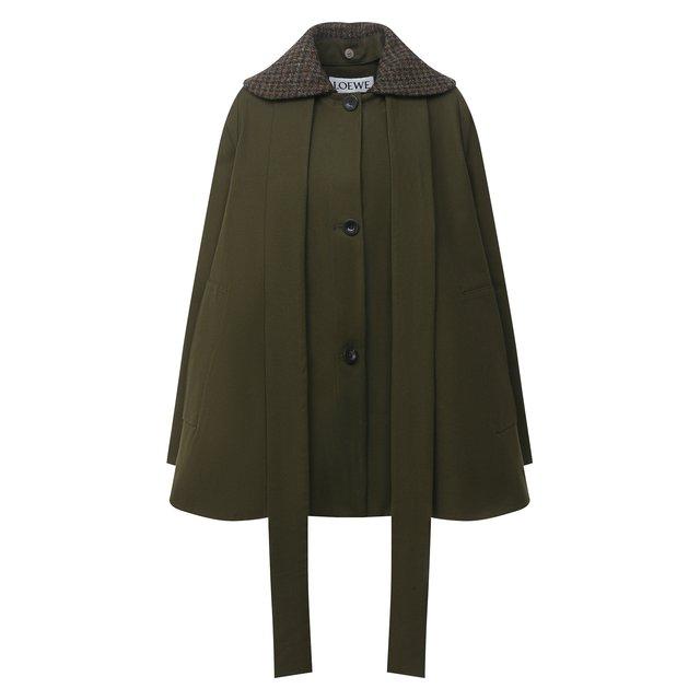 Хлопковое пальто Loewe