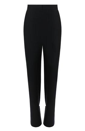 Женские шерстяные брюки LOEWE темно-синего цвета, арт. S540331XAW | Фото 1