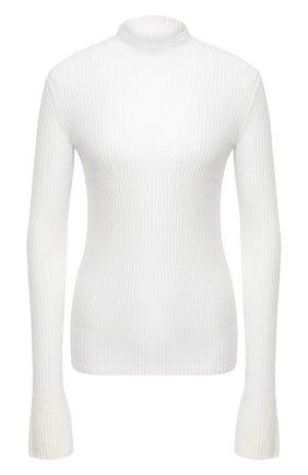 Женская шерстяная водолазка MRZ белого цвета, арт. FW20-0116 | Фото 1