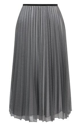 Женская юбка MONCLER серебряного цвета, арт. F2-093-2D711-00-C0580 | Фото 1