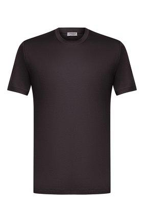 Мужская хлопковая футболка ZIMMERLI темно-серого цвета, арт. 286-1447 | Фото 1