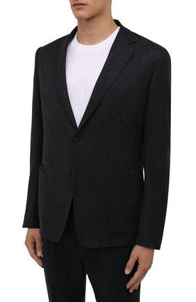 Мужской шерстяной костюм Z ZEGNA темно-серого цвета, арт. 824711/2X7YGW | Фото 2