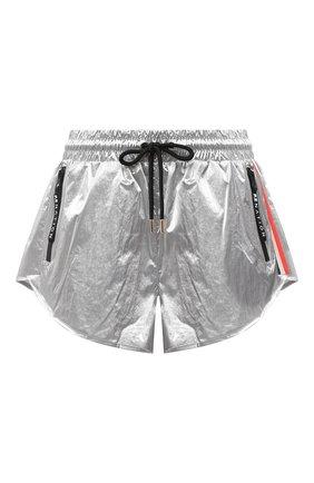 Женские шорты P.E. NATION серебряного цвета, арт. 20PE2S028 | Фото 1