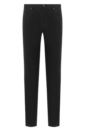 Мужские хлопковые брюки CORNELIANI темно-серого цвета, арт. 864L01-0818506/00   Фото 1