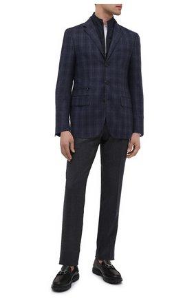 Мужской шерстяной пиджак CORNELIANI темно-синего цвета, арт. 866557-0816406/80   Фото 2
