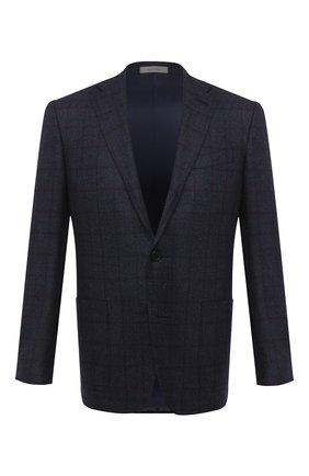 Мужской шерстяной пиджак CORNELIANI фиолетового цвета, арт. 866Y70-0816220/90 | Фото 1