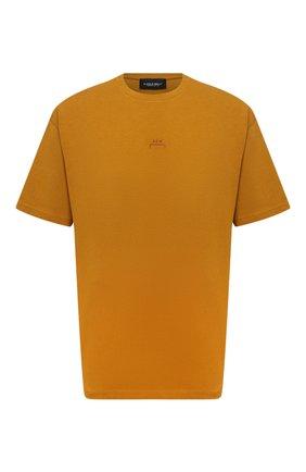 Мужская хлопковая футболка A-COLD-WALL* светло-коричневого цвета, арт. ACWMTS017 | Фото 1