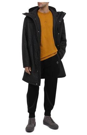 Мужская хлопковая футболка A-COLD-WALL* светло-коричневого цвета, арт. ACWMTS017 | Фото 2
