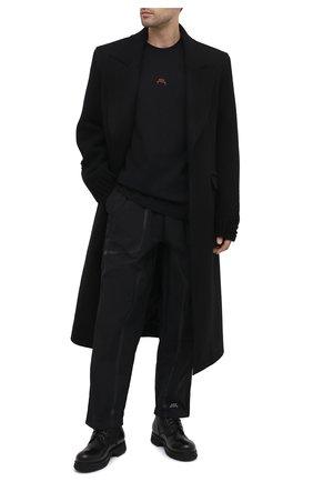 Мужская хлопковая футболка A-COLD-WALL* черного цвета, арт. ACWMTS017 | Фото 2