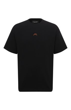 Мужская хлопковая футболка A-COLD-WALL* черного цвета, арт. ACWMTS017E | Фото 1