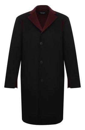 Мужской шерстяное пальто A-COLD-WALL* черного цвета, арт. ACWMH013 | Фото 1