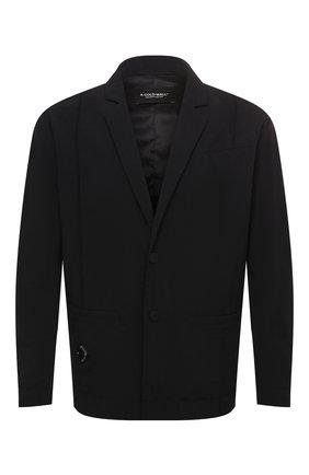 Мужской пиджак A-COLD-WALL* черного цвета, арт. ACWMH009 | Фото 1