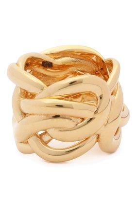 Женское кольцо BOTTEGA VENETA золотого цвета, арт. 637123/VAHU0 | Фото 2