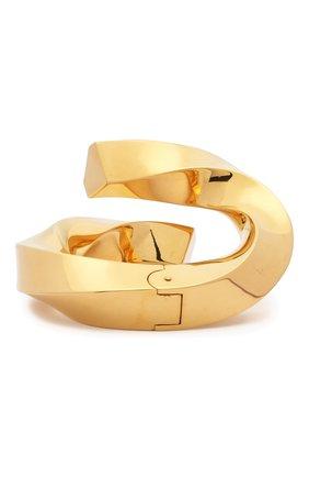 Женский браслет BOTTEGA VENETA золотого цвета, арт. 629203/VAHU0 | Фото 2