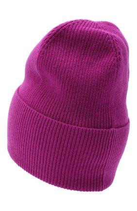 Женский шапка из шерсти и кашемира MONCLER фиолетового цвета, арт. F2-093-9Z746-00-A9363   Фото 2