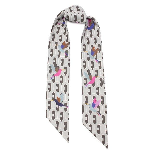 Шелковы шарф-бандо Furla