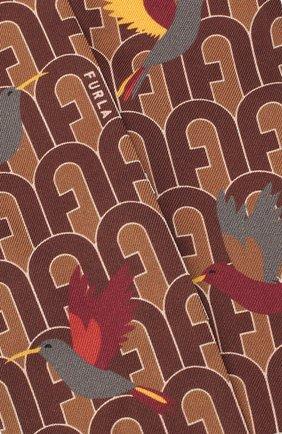 Мужские шелковы шарф-бандо FURLA коричневого цвета, арт. WT00001/A.0166 | Фото 2