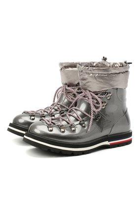 Женские ботинки inaya MONCLER серого цвета, арт. F2-09B-4G708-00-02SFB | Фото 1