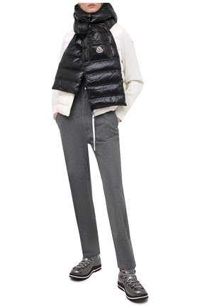 Женские ботинки inaya MONCLER серого цвета, арт. F2-09B-4G708-00-02SFB | Фото 2