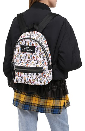 Женский рюкзак the backpack medium peanuts x marc jacobs MARC JACOBS (THE) белого цвета, арт. M0016563 | Фото 2