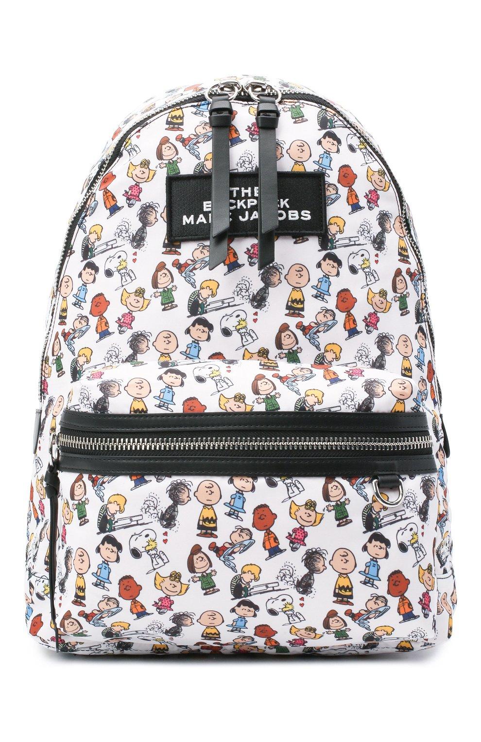 Женский рюкзак the backpack large peanuts x marc jacobs MARC JACOBS (THE) белого цвета, арт. M0016562 | Фото 1