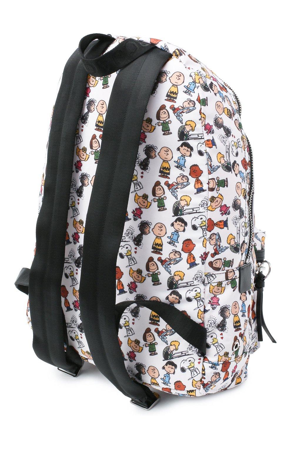 Женский рюкзак the backpack large peanuts x marc jacobs MARC JACOBS (THE) белого цвета, арт. M0016562 | Фото 3